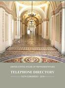 United States House Of Representatives Telephone Directory 2019 Office