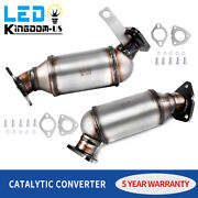 Fits 09-17 Chevy Traverse Gmc Acadia Buick Enclave 3.6l Catalytic Converter Set