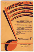 C Treble Instruments - Technical Fun For All Instrumental Groups - 1931 - Remick