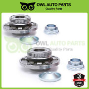 2 Pcs Front Wheel Bearing And Hub Assembly For Bmw Z4 M3 325ci 325i 330ci 330i