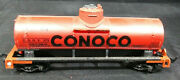 Life Like Red Conoco Ho Scale Model Train Tank Car. Vintage. Weighted To 4.1oz
