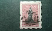Virgin Islands 7b Used Double Lined Frame E207 10504