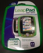 Brand New Leap Frog Leap Pad Leap Pad2 Green Gel Skin Cover