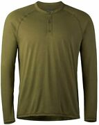 Sitka Gear Menand039s Hanger Work Insect Protective Long Sleeved Henley Shirt