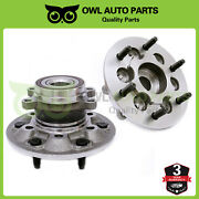 2 Front Wheel Bearing And Hub Assy 2009-2012 Chevy Colorado Gmc Canyon 4wd Abs