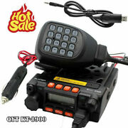 Qyt Kt-8900 25w Mini Mobile Radio Dual Band 136-174and400-480mhz Two Way Radio 1p