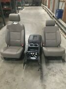 14-16 Silverado Sierra 1500 Crew Cab Leather Bucket And Console Seat Opt An3