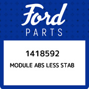1418592 Ford Module Abs Less Stab 1418592 New Genuine Oem Part
