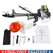 New 4 Stroke 3.6 Hp Outboard Motor 55cc Boat Engine With Air Cooling System Usa