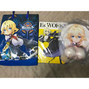 Blazblue Breast Mouse Pad Only Bray Blue Arc System Works Es Comiket 91 C96