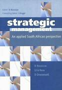 Strategic Management A South African Perspective Including The Balanced Score
