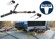 Blue Ox Bx7420 Class Iv Avail 10,000lb Capacity Tow Bar With Safety Cable Brown