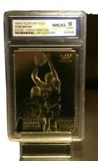 Kobe Bryant Autograph Card Rookie Rare Gold Card - Serial Numbered- Graded 10