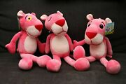 15 1 Pcs Gift Cute Plush Pink Panther Leopard Cartoon Doll Toy For Kids Baby Us