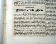 Battle Of Chippewa Ontario W/ General Jacob Brown Victory War Of 1812 Newspaper