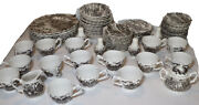 Vintage Royal Mail Ironstone China - 83 Pieces - Assorted Tea And Dinnerware Set
