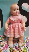 Gerber Baby Doll With Pink Outfit 17andrdquo Moving Green Eyes