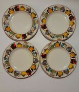 Sakura At Home 1994 Mary Engelbreit Afternoon Tea Bread And Butter Plates Set Of 4