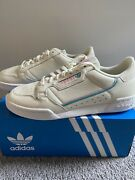 Adidas Continental 80 Shoes Ee5357 Size 9 Mens Off White Pink Aqua
