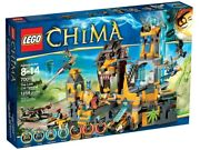 Lego Legends Of Chima The Lion Chi Temple 70010 Used Condition