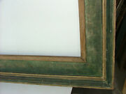 Frame Knoedler Corcoran Cassetta Modern Polychrome Fits 17x36 Inches Solid Wood
