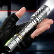Super Bright Led Flashlight Zoomable Torch Rechargeable Lantern Waterproof Lamp