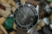 Vintage Certina Ds Automatic Cal. 25-651 Tropical Stainless Steel Diver's Watch