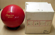 16.08 1988 Star Trak West Reactor Urethane Bowling Ball Red Solid