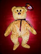 Ty Beanie Baby Curly The Bear 1993 Condition Is New Tag Errors And Brown Nose