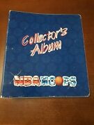 Nba Hoops Collectors Album Basketball Playeres In The Nba W/ 42 Cards And 3 Big