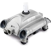 Intex 28001e Automatic Pool Vacuum Cleaner For Above-ground Pools W/1.5 Fitting