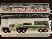 Vintage Hess Toy Truck And Airplane 2002. Collectibleperfect With Box