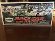 Mint New In Box 2009 Hess Toy Truck Race Car And Racer Flashing Lights Batteries