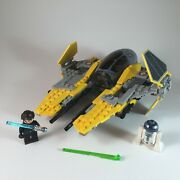 Lego Star Wars Jedi Interceptor 75038 Includes Instructions And Minifigures
