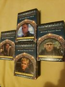 Stargate Tcg Star Gate Starter Deck Lot Collection Trading Card Game Ccg Sg-1