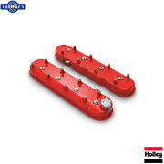 Holley Tall Ls Valve Covers - Gloss Red 241-113