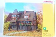 N Scale Vollmer 47679 Vampire Villa Haunted Mansion With Lights Building Kit