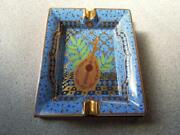 Hermes Authentic Ashtray Porcelain Cigar Vintage Accessory Tray Interior 27