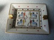 Hermes Authentic Ashtray Porcelain Cigar Vintage Accessory Tray Interior 28
