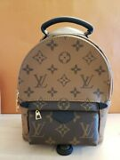 Louis Vuitton Palm Springs Mini Backpack In Reverse Monogram Canvas