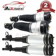 4pc For Mercedes W220 S Class 2wd Front Rear Air Suspension Shock Strut 1998-06