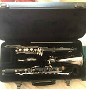 Yamaha 221 Bass Clarinet With Low Eb And Handcrafted Mouthpiece.