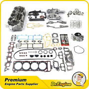 Head Gasket Set Timing Chain Cover Kit Oil Pump Cylinder Head Fit 85-95 Toyota