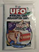 The Ufo Whirling Helicopter Card A Houdini Majic Exclusive W/dvd