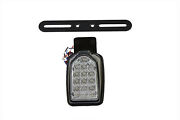 Black Mini Tombstone Tail Lamp With Bracket,for Harley Davidson Motorcycles,by V