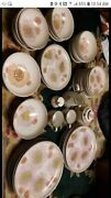 Denby Gypsy Pink Flower Dinnerware. Old Discontinued China. Look At Discription.