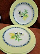 Royal Doulton Carmina 3 Of The 11 Inch Dinner Plates  Free Shipping