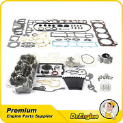 Head Gasket Bolts Timing Chain Oil Water Pump Cylinder Head Set Fit 85-95 Toyota