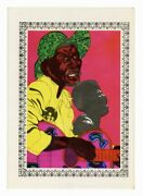 Emory Douglas 1973 Black Panther Party African American Revolutionary Art J7096