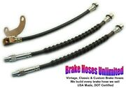 Brake Hose Set Ford Ranchero 1972 1973 1974 With 6 Cylinder And 302 Engines